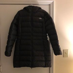 The North Face Mid-Length Coat with a Hood